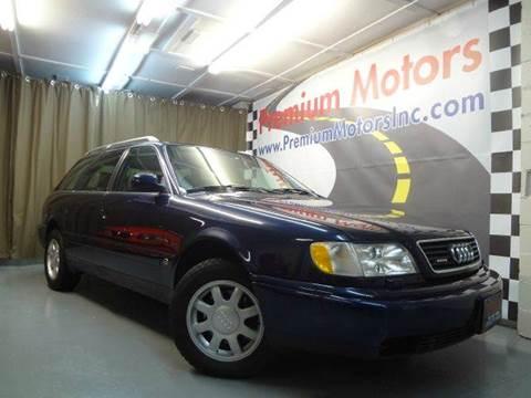 1996 Audi A6 for sale at Premium Motors in Villa Park IL