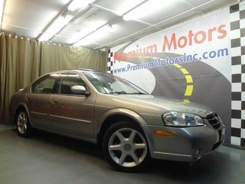 2001 Nissan Maxima for sale at Premium Motors in Villa Park IL