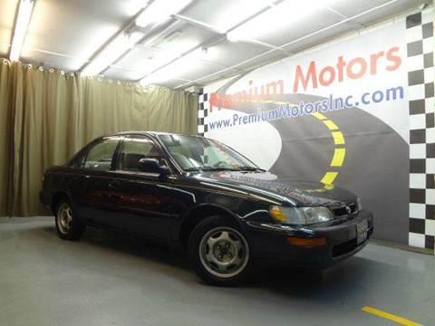 1997 Toyota Corolla for sale at Premium Motors in Villa Park IL