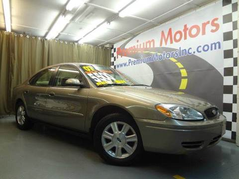 2007 Ford Taurus for sale at Premium Motors in Villa Park IL