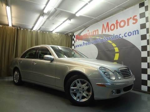 2003 Mercedes-Benz E-Class for sale at Premium Motors in Villa Park IL