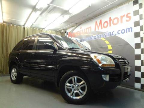 2005 Kia Sportage for sale at Premium Motors in Villa Park IL