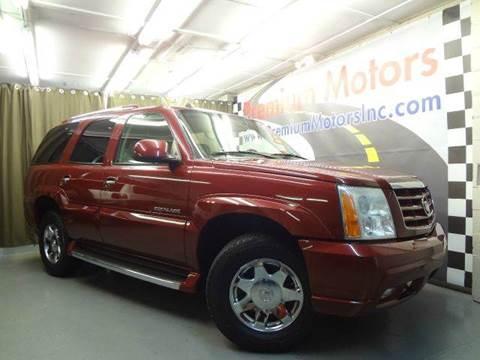2004 Cadillac Escalade for sale at Premium Motors in Villa Park IL