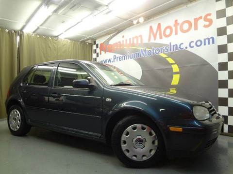 2004 Volkswagen Golf for sale at Premium Motors in Villa Park IL