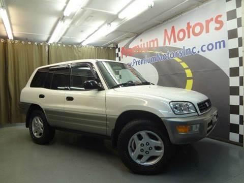 2000 Toyota RAV4 for sale at Premium Motors in Villa Park IL