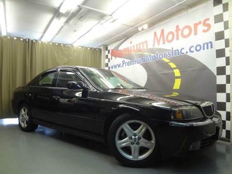 2005 Lincoln LS for sale at Premium Motors in Villa Park IL