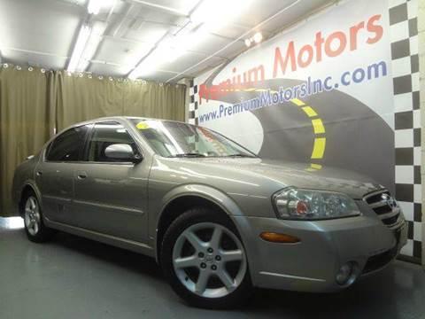 2002 Nissan Maxima for sale at Premium Motors in Villa Park IL