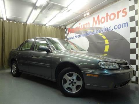 2003 Chevrolet Malibu for sale at Premium Motors in Villa Park IL