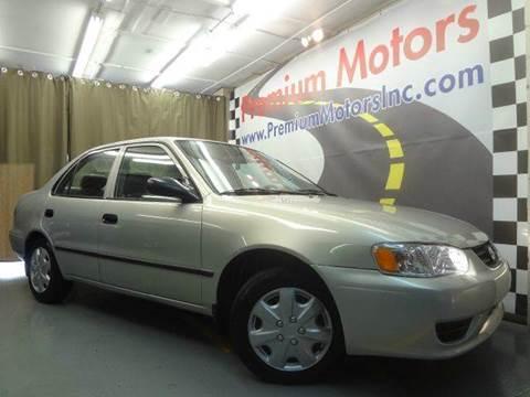 2001 Toyota Corolla for sale at Premium Motors in Villa Park IL