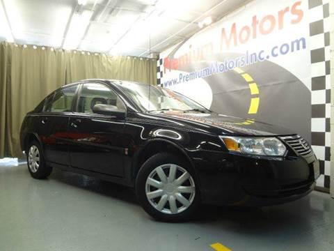 2005 Saturn Ion for sale at Premium Motors in Villa Park IL