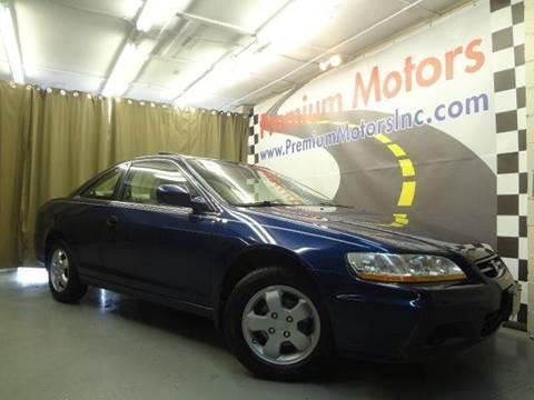 2001 Honda Accord for sale at Premium Motors in Villa Park IL