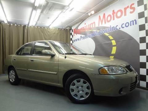 2002 Nissan Sentra for sale at Premium Motors in Villa Park IL