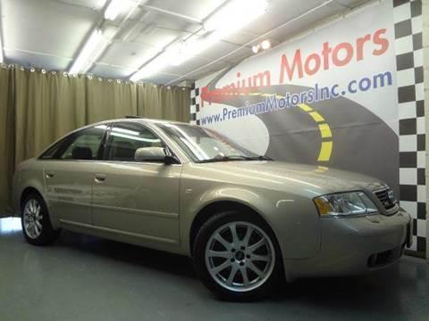 2000 Audi A6 for sale at Premium Motors in Villa Park IL