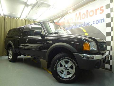 2002 Ford Ranger for sale at Premium Motors in Villa Park IL