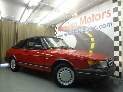 1991 Saab 900 for sale at Premium Motors in Villa Park IL