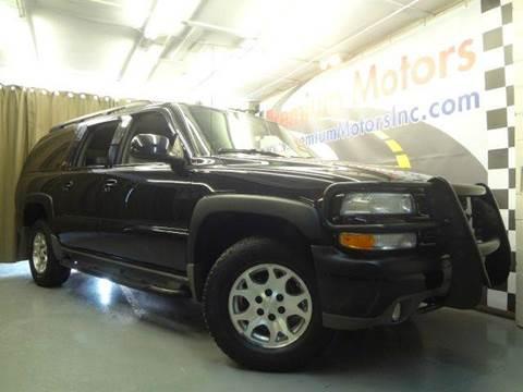 2004 Chevrolet Suburban for sale at Premium Motors in Villa Park IL