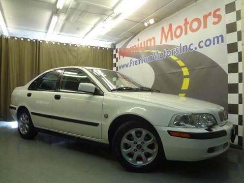 2002 Volvo S40 for sale at Premium Motors in Villa Park IL