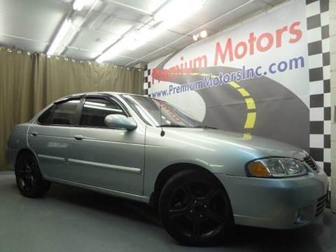 2003 Nissan Sentra for sale at Premium Motors in Villa Park IL