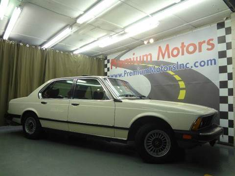 1979 BMW 7 Series for sale at Premium Motors in Villa Park IL