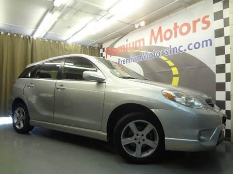 2005 Toyota Matrix for sale at Premium Motors in Villa Park IL