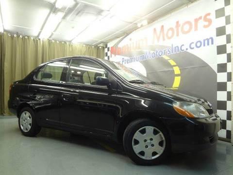 2001 Toyota ECHO for sale at Premium Motors in Villa Park IL