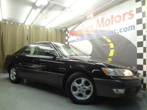 1999 Lexus ES 300 for sale at Premium Motors in Villa Park IL