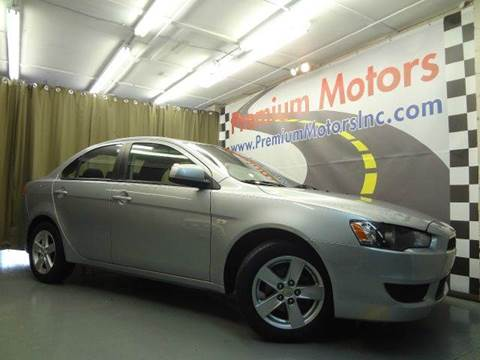 2008 Mitsubishi Lancer for sale at Premium Motors in Villa Park IL