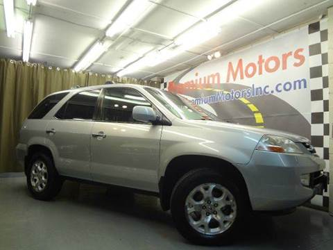 2001 Acura MDX for sale at Premium Motors in Villa Park IL