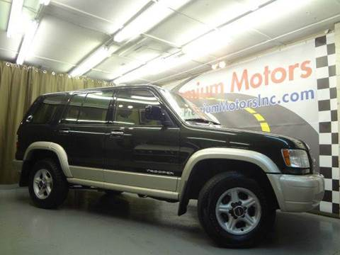 2002 Isuzu Trooper for sale at Premium Motors in Villa Park IL