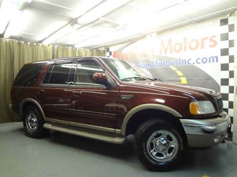 2001 Ford Expedition for sale at Premium Motors in Villa Park IL