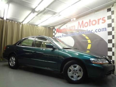 2002 Honda Accord for sale at Premium Motors in Villa Park IL