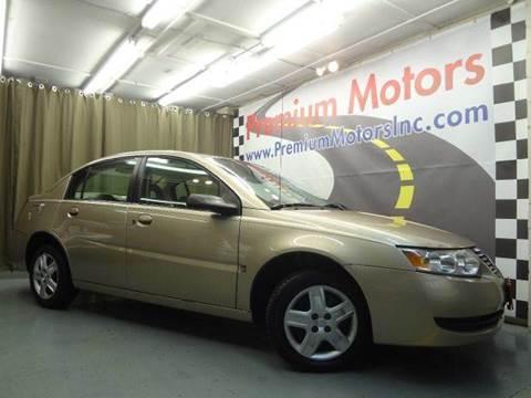 2006 Saturn Ion for sale at Premium Motors in Villa Park IL