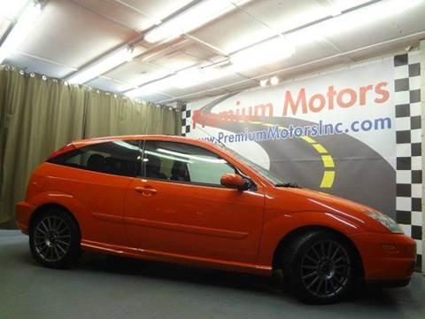 2003 Ford Focus SVT for sale at Premium Motors in Villa Park IL