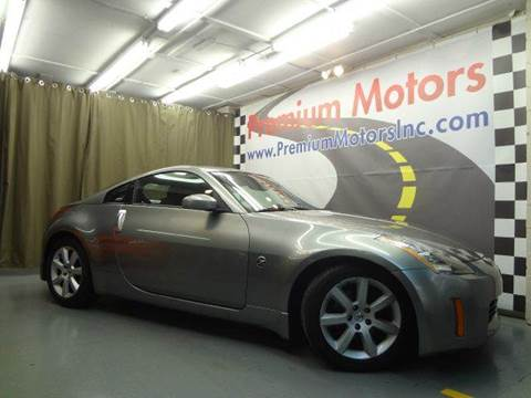 2004 Nissan 350Z for sale at Premium Motors in Villa Park IL