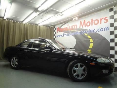 1996 Lexus SC 300 for sale at Premium Motors in Villa Park IL