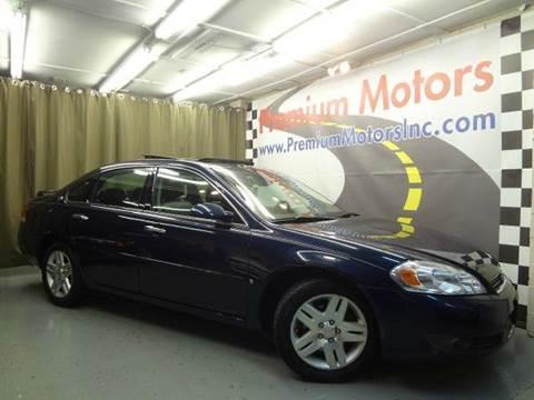 2007 Chevrolet Impala for sale at Premium Motors in Villa Park IL