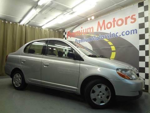 2002 Toyota ECHO for sale at Premium Motors in Villa Park IL
