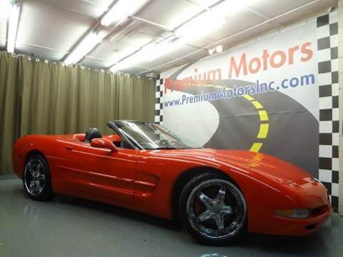 1998 Chevrolet Corvette for sale at Premium Motors in Villa Park IL