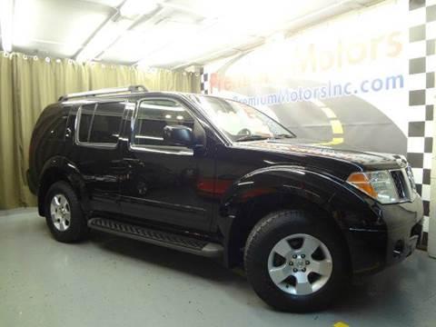 2006 Nissan Pathfinder for sale at Premium Motors in Villa Park IL