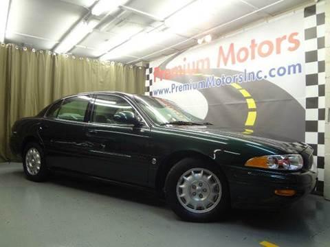 2001 Buick LeSabre for sale at Premium Motors in Villa Park IL