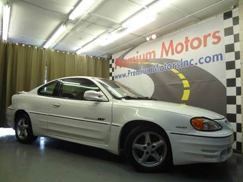 2001 Pontiac Grand Am for sale at Premium Motors in Villa Park IL
