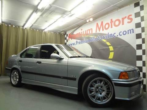 1998 BMW M3 for sale at Premium Motors in Villa Park IL