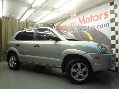 2007 Hyundai Tucson for sale at Premium Motors in Villa Park IL