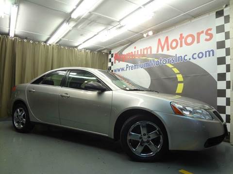 2008 Pontiac G6 for sale at Premium Motors in Villa Park IL