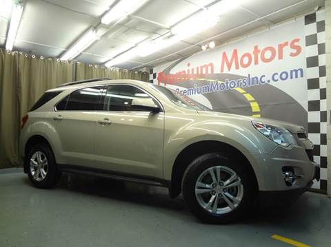 2012 Chevrolet Equinox for sale at Premium Motors in Villa Park IL