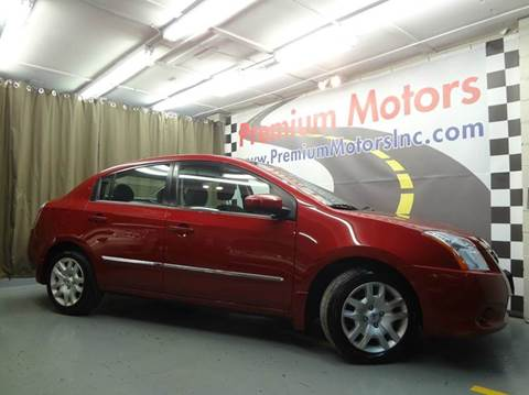 2010 Nissan Sentra for sale at Premium Motors in Villa Park IL