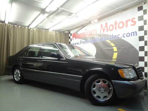 1995 Mercedes-Benz S-Class for sale at Premium Motors in Villa Park IL