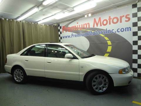 2001 Audi A4 for sale at Premium Motors in Villa Park IL