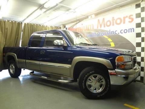 2000 GMC Sierra 1500 for sale at Premium Motors in Villa Park IL