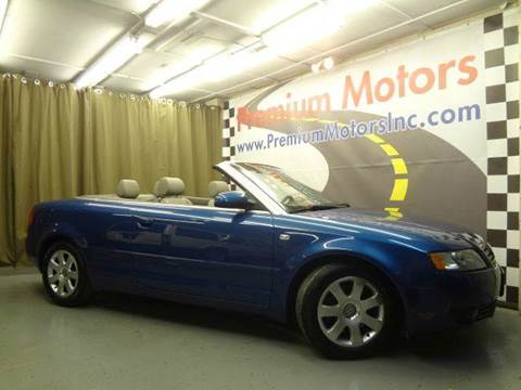 2003 Audi A4 for sale at Premium Motors in Villa Park IL